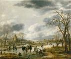 Сцена на льду, 1655
