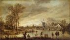 Река зимой, 1845