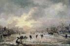Зимний пейзаж (1645-1950)