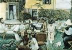 1900 La famille Terrasse au Grand-Lemps