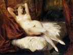 Female Nude Reclining on a Divan