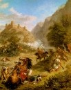 1863 - Arabs Skirmishing in the Mountains