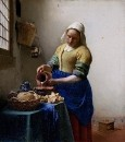 Служанка с кувшином молока