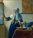 Молодая женщина с кувшином воды