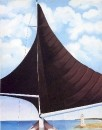 Brown Sail, Wing on Wing, Nassau