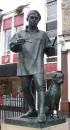 William Hogarth statue