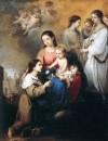 Дева с младенцем и Святая Розалина из Палермо, около 1670
