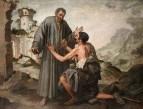 Брат Жюниперо и нищий, 1646