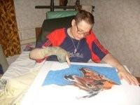 Олег Попов (Рисующий пальцем)