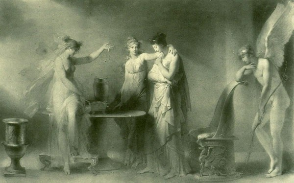 Psyche and Her Two Sisters