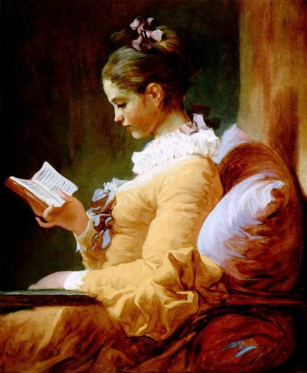 A Young Girl Reading.1776.National Gallery of Art, Washington